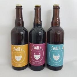 3 bières artisanales