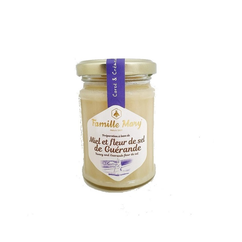 Miel et fleur de sel