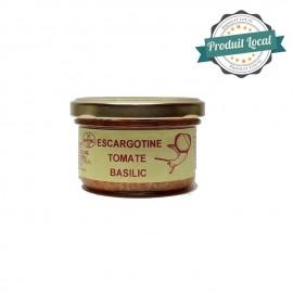 Escargotine tomate basilic