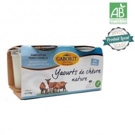 4 Yaourts nature au lait de chèvre