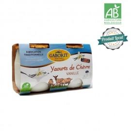 2 Yaourts au lait de chèvre vanille