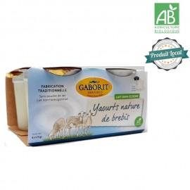 6 Yaourts au lait cru de brebis