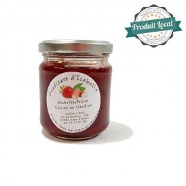 Confiture fraise et rhubarbe