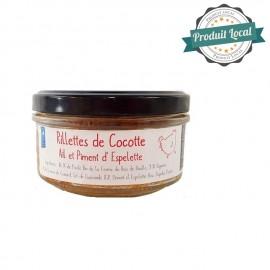 Rillettes de Cocotte ail/piment d'Espelette