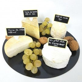 """Plateau fromages """"du coin"""""""