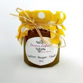 Confiture mangue vanille